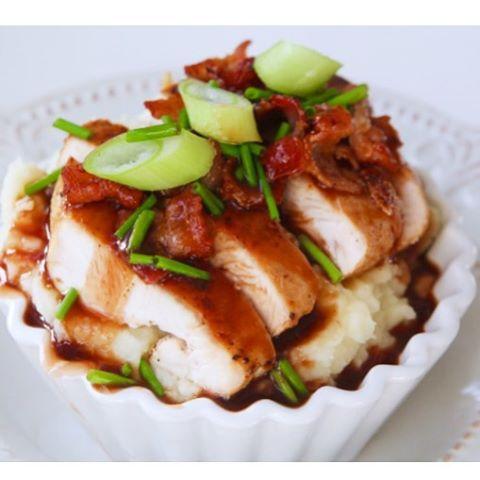 Bloggen är uppdaterad med nytt middagsrecept #jennysmatblogg #middag #middagstips #fredagsmat #skomakarlåda #bacon #husmanskost