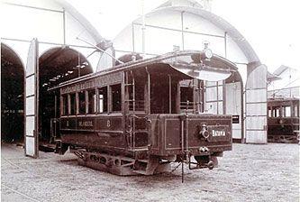 Tram in Batavia
