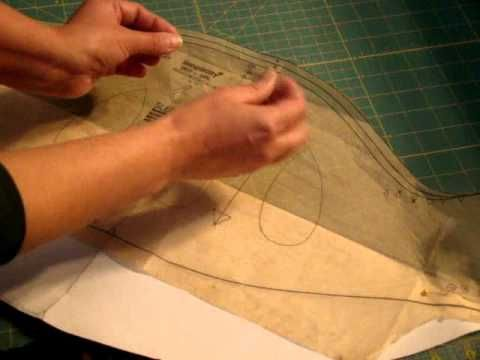 Puffy sleeves 1.wmv tutorial on altering a puff sleeve pattern by adding lining and tulle or net to keep the poof