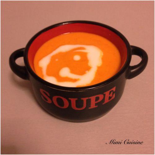 Soupe de poivrons by Thermomix - Mimi Cuisine