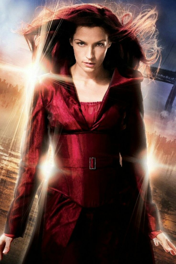 Famke Janssen as Jean Grey/Phoenix in X-Men: The Last Stand