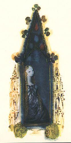 Mirko Hanak - The Bluebird - Girl in Window Published by Hamlyn in 1972, 2nd impression (1st publishd 1969). Story by Marie dAulnoy, adapted by Jan Vladislav... Illustrated by Mirko Hanak.