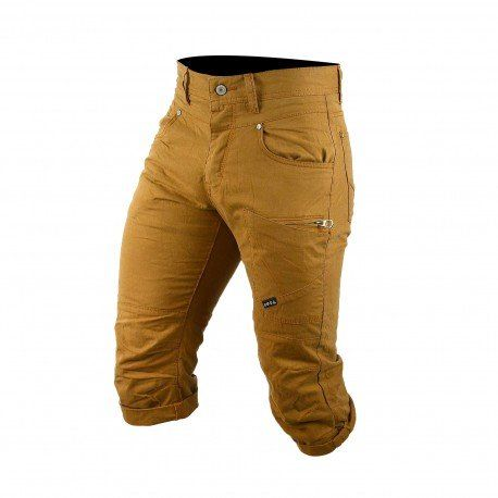#Soldes chez GGJeans : #pantacourt homme #MZGZ Orizon crème à -30% !