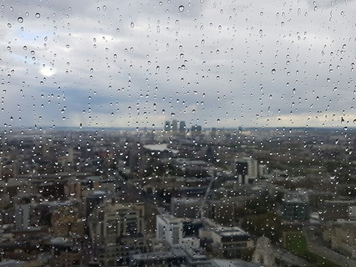 Rainy day, Central London