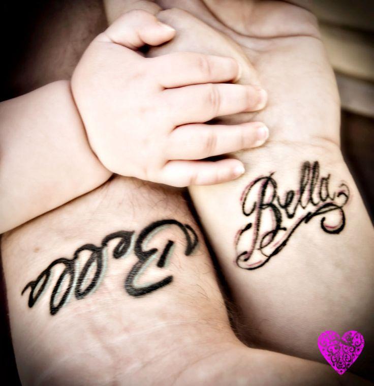 baby name tattoo body art pinterest. Black Bedroom Furniture Sets. Home Design Ideas