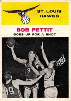 1961-62 Fleer #59 Bob Pettit Front