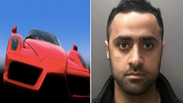 Cop outed as gang member after driving ferrrari to work