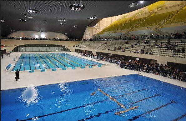 What is an Olympic-Size Pool?: The Olympic Games pool, London, 2012.