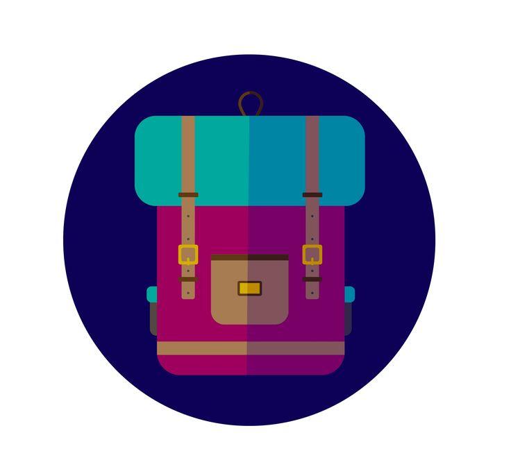 Pink Backpack by Tanya Tammaya