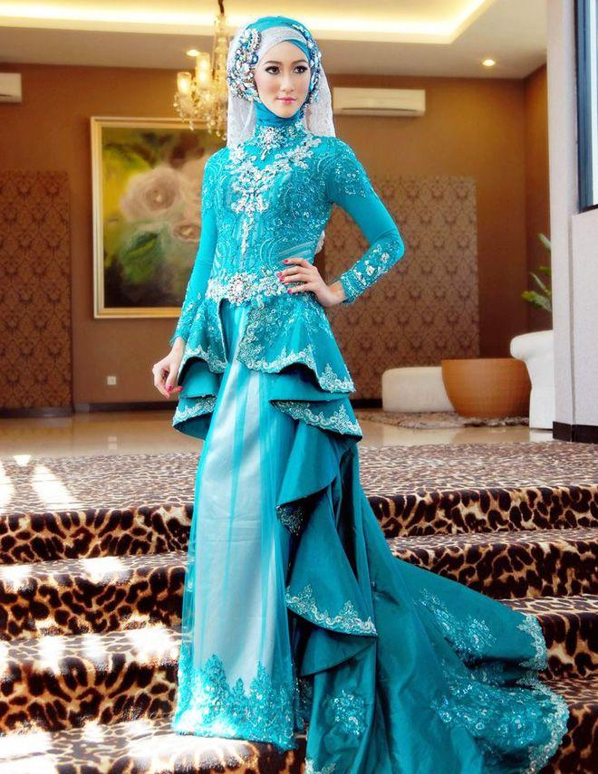 Designer Wedding Abaya Dresses for Bridals 2016-2017 | BestStylo.com