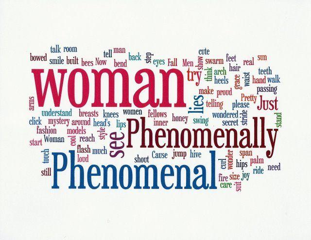 "phenomenal woman quotes | am sharing the poem ""Phenomenal Woman"" by Maya Angelou."