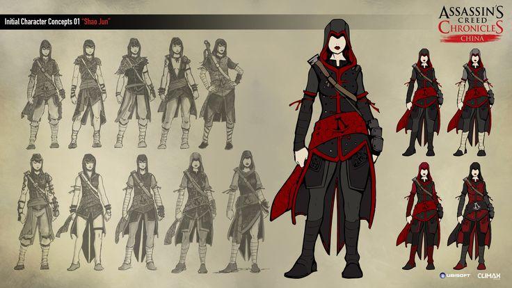Assassin's Creed China Concept Art