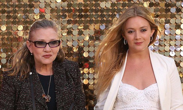 Billie Lourd is 'struggling' since mother Carrie Fisher's death