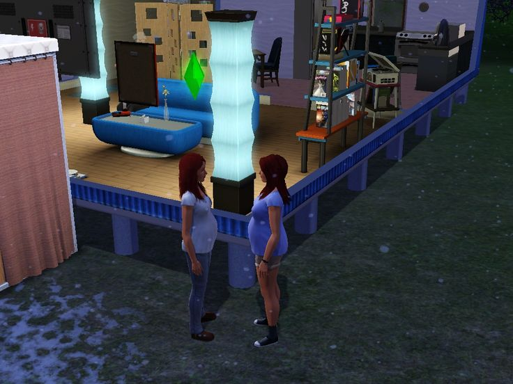 Pregnant Twin Sisters, I had gotten them prego at the same time lol. | Mckayla and Meagan