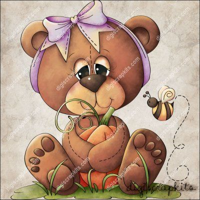 Punkin Bear 1 Clip Art Single http://digiscrapkits.com/digiscraps/index.php?main_page=product_info&cPath=921_903&products_id=8839