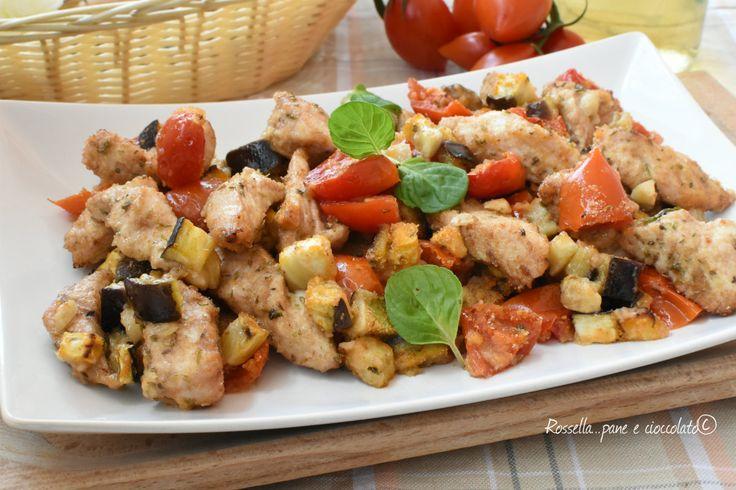 PETTI di POLLO con le MELANZANE Tenerissimi, Croccanti e Leggeri da fare per cena o come contorno sono sempre molto apprezzati!