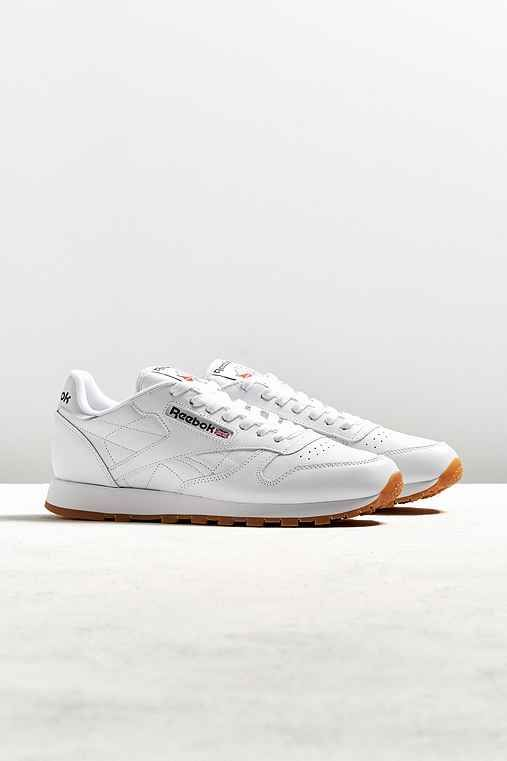 Reebok Classic Leather Gum Sole Sneaker - Urban Outfitters