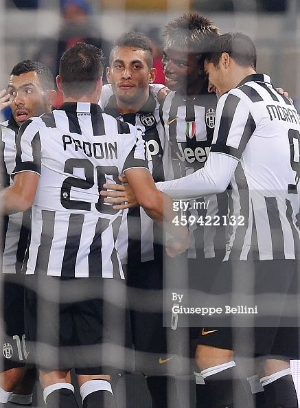 Paul Pogba of Juventus FC celebrates after...