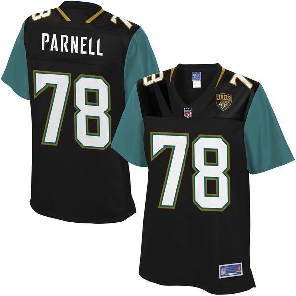 f5f130fcb94 ... Branded Black Personalized Retro Tri-Blend V NFL Pro Line Womens  Jacksonville Jaguars Jermey Parnell Team Color Jersey - 99.99 ...