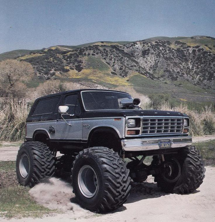 bronco truck | Do you remember the Desert Beast Ford Bronco monster truck? Whatever ...