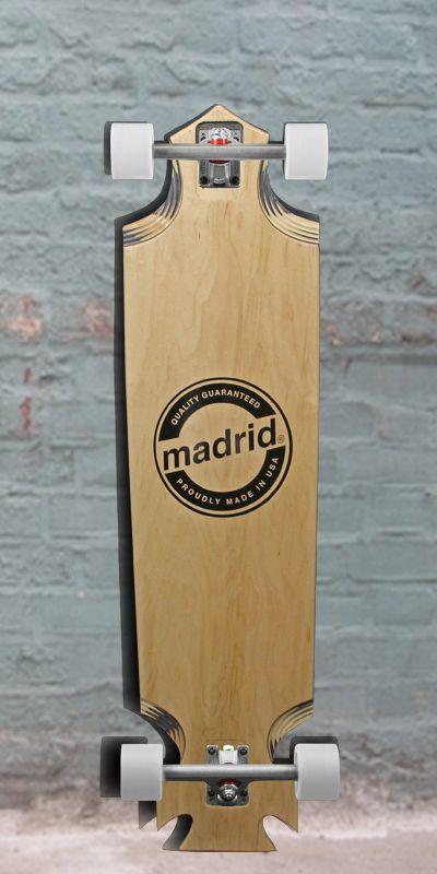 Love that cut!  Madrid Anvil Downhill Longboard - Maple 39 inch - Complete, $243.00 (http://longboardsusa.com/longboards/downhill-longboards-riding-style/madrid-anvil-downhill-longboard-maple-39-inch-complete/)