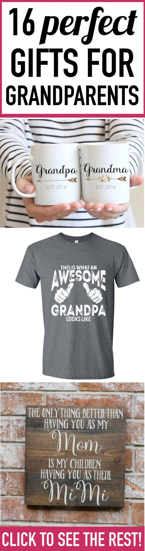 25 Best Gift Ideas For Grandparents Ideas On Pinterest