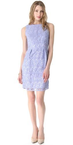 Where To Buy Shoshanna Dresses Shoshanna Lavender Lace Dress