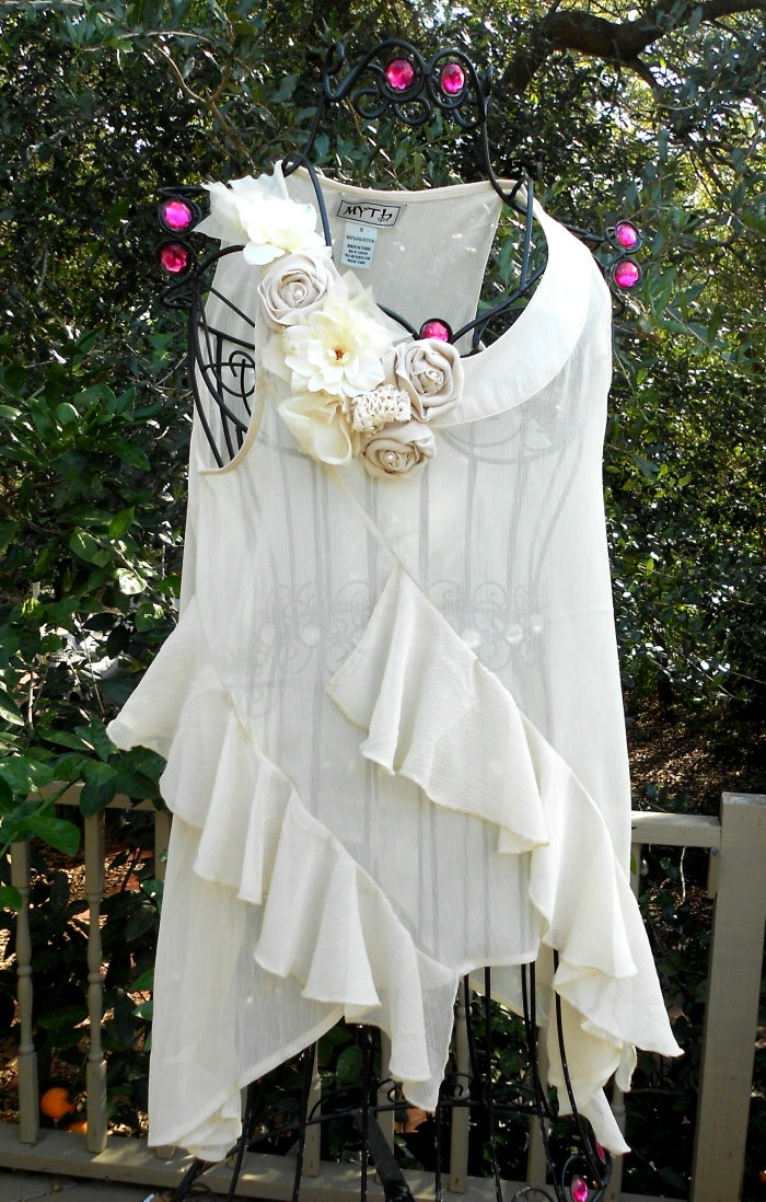 French Country Clothing Part - 43: Shabby Chic Tunic