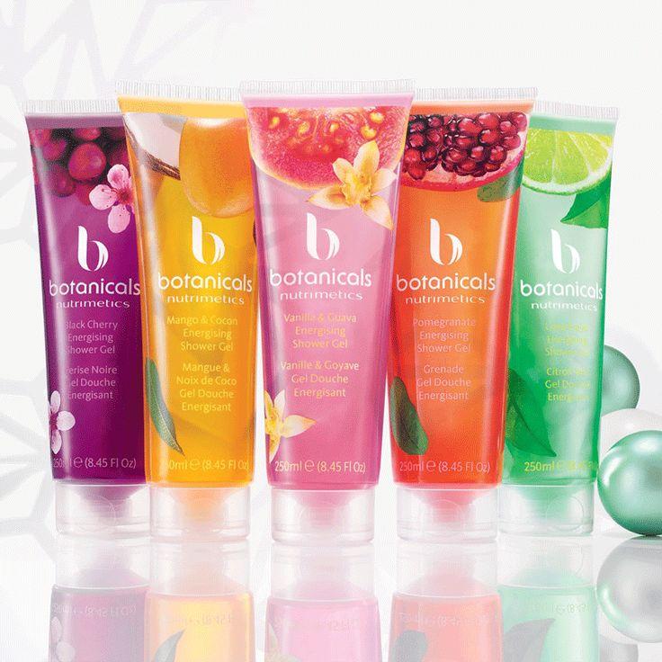 Botanicals Energising Shower Gel Box Set