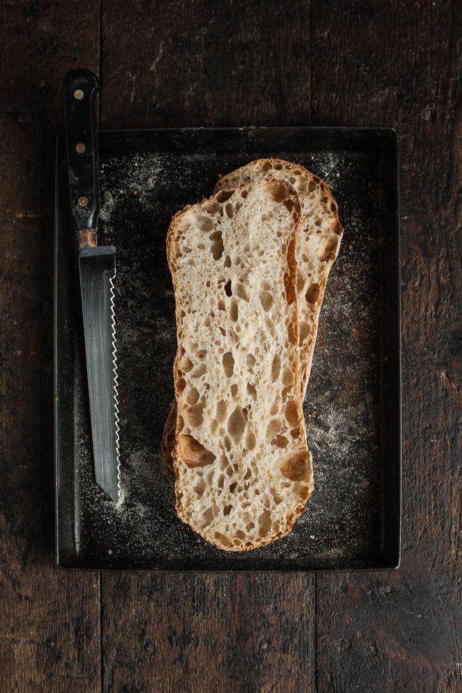 ciabatta bread - perfect holes and crust!
