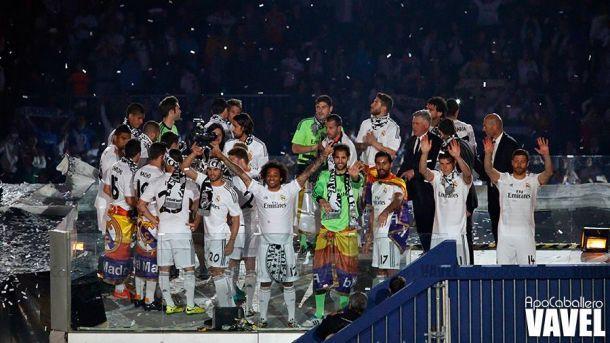 El campeón de Europa ofrece la Champions a la ciudad de Madrid