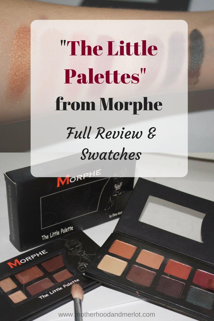 Morphe 35k eyeshadow palette review beauty in bold - Morphe The Little Palette Review