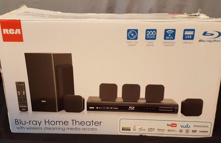 RCA RTB10323LW Home Theater System with Blu-ray Player #RCA