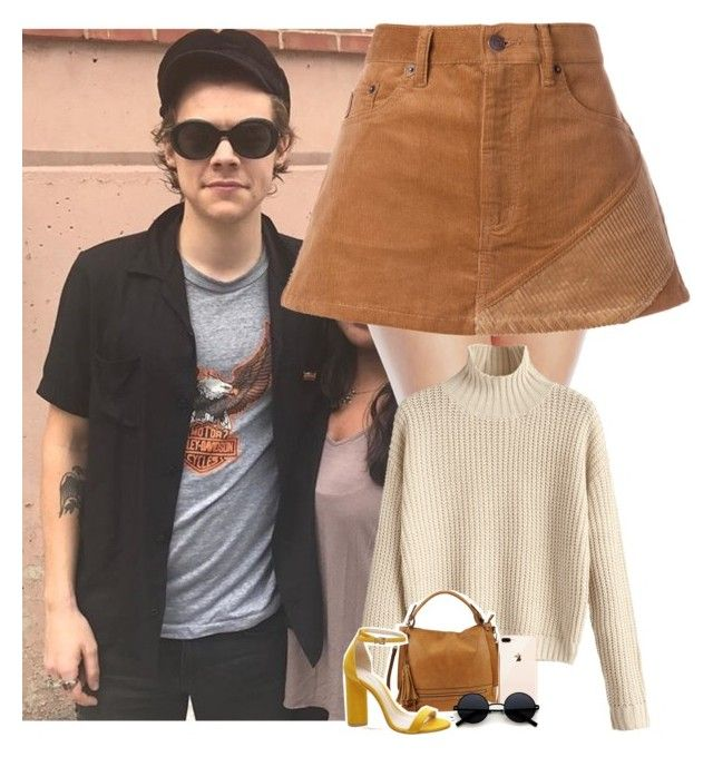 """""""NYC with Harry"""" by dipx1d ❤ liked on Polyvore featuring Millesia, Marc Jacobs and Urban Expressions"""
