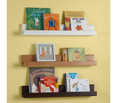 Land of Nod $20 Kids Wall Racks: Kids Wooden Book Wall Ledge: Bookshelves, Book Display, Wall Ledge, Kids Wall, Book Ledge, Book Storage, Wall Shelves, Book Shelves, Kids Rooms