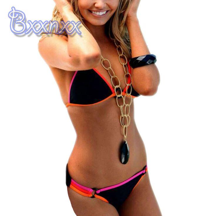 $16.73 (Buy here: https://alitems.com/g/1e8d114494ebda23ff8b16525dc3e8/?i=5&ulp=https%3A%2F%2Fwww.aliexpress.com%2Fitem%2F2016-New-Black-Patchwork-Bikinis-Women-Brazilian-Beach-Biquini-Female-Strappy-Swimsuits-Sexy-Micro-Swimwear-String%2F32652153615.html ) 2016 New Black Patchwork Bikinis Women Brazilian Beach Biquini Female Strappy Swimsuits Sexy Micro Swimwear String Bathing Suits for just $16.73