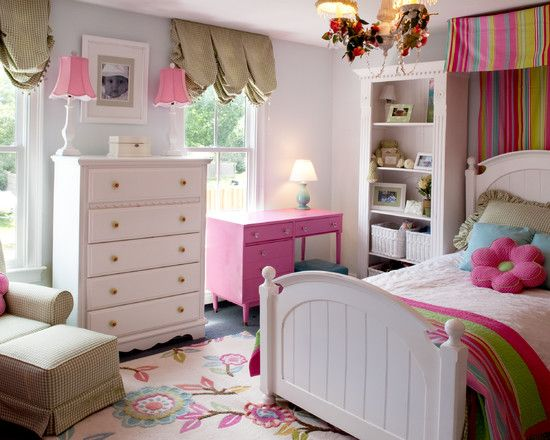 kids little girls bedrooms bunk beds design pictures