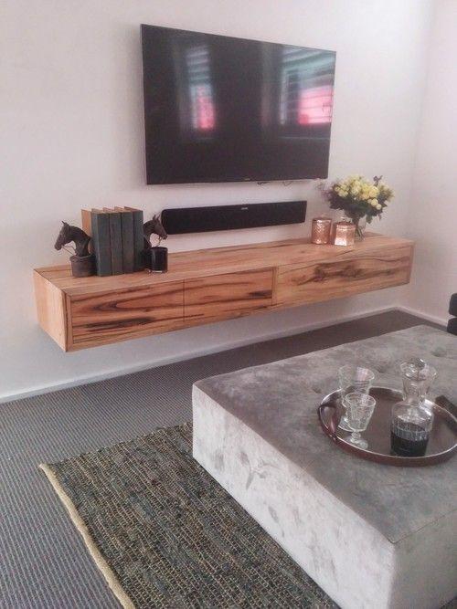 'Collie' Marri floating entertainment unit — Ingrain Designs