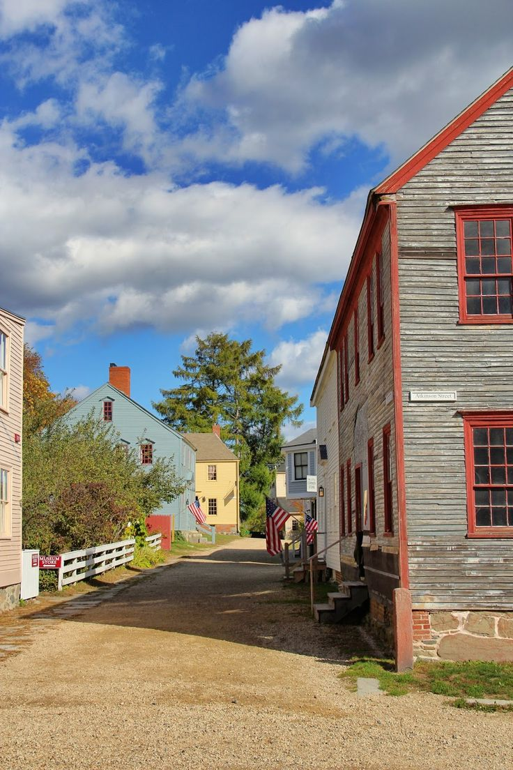 Old Strawbery Banke Portsmouth New Hampshire