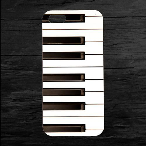 Customized Phone Case Piano Keys Musical Case for Apple iPhone