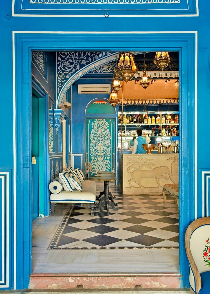 Bar Palladio - Hotel Narain Niwas Palace