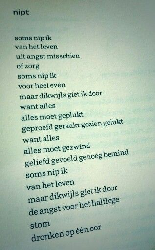 Words poetry gedicht van Merel Morre