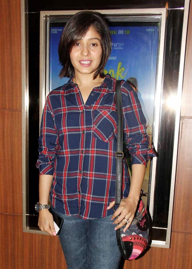 Sunidhi Chauhan at #Dhanak screening. #Bollywood #Fashion #Style #Beauty #Hot