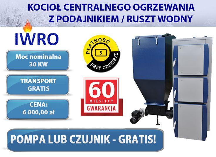 ◻Wejdź w bezpośredni link do aukcji kotła: ➡ http://allegro.pl/kotly-kociol-piece-z-podajnikiem-slimak-inox-30kw-i6306843446.html  ◻KONTAKT:  📱tel kom: 796640017 ✉e-mail: iwro@onet.pl  ◻Zapraszamy również na nasze pozostałe aukcje allegro: ➡ http://allegro.pl/listing/user/listing.php?us_id=17206055  #kocioł #kotły #piece #dom #ogrzewanie #miał #pellet #ekogroszek #węgiel #centralne #polskisprzedawca #oferta #allegro #sklep