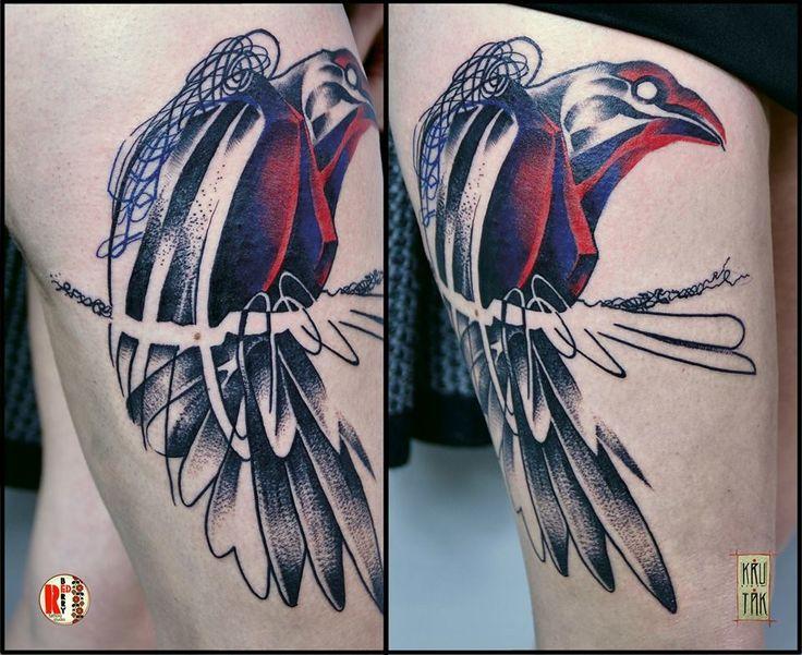 Redberry Tattoo Studio Wrocław #tattoo #inked #ink #studio #wroclaw #warszawa #tatuaz #gdansk #redberry #katowice #sosnowiec #bielskobiala #berlin #poland #krakow #krutak #labrujaproject #kruk #raven #gradient