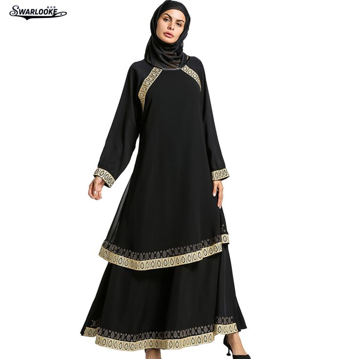 2018 Summer New Arrival Muslims Women Fashion Casual Long Sleeved Elegant Long Dress Middle East Loose Ramadan Robe with Hijab. Yesterday's price: US $116.00 (95.50 EUR). Today's price: US $58.00 (47.75 EUR). Discount: 50%.
