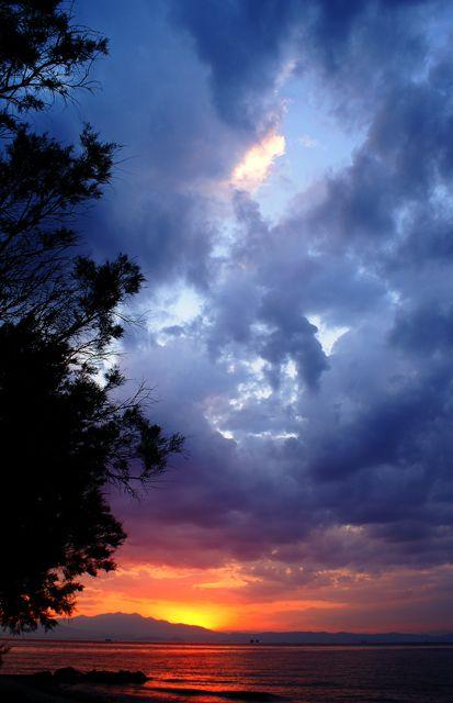 Prinos Sunset, Thassos, Greece