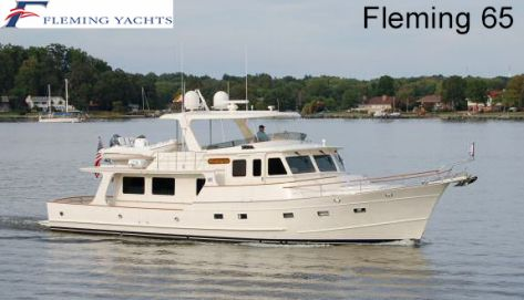 Fleming 65' | Some of our recent Yacht Controller installs | Yacht Controller provides you with total freedom of movement around your vessel! Free yourself from the helm to any position on your vessel.  | www.YachtController.com