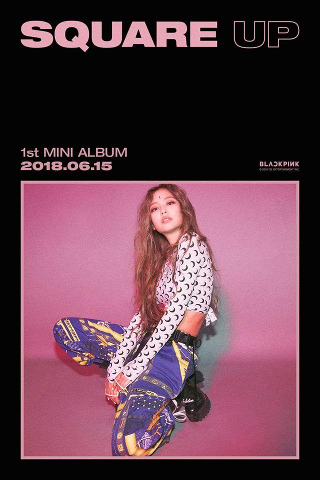 Blackpink 1st Mini Album Square Up Teaser Poster Kpopmap