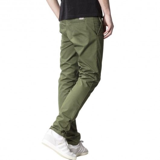 CARHARTT WIP Sid Pant Rover green rinsed pantalon chino Lamar stretch slim tapered fit 89,00 € #skate #skateboard #skateboarding #streetshop #skateshop @playskateshop